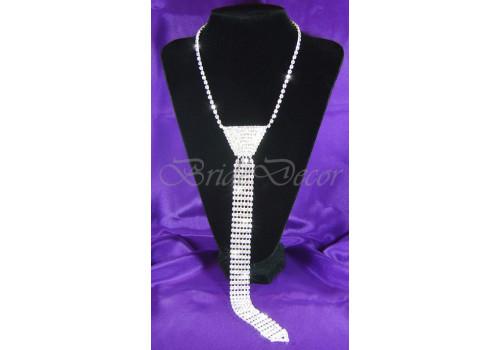 Колье галстук «Делу – не время»