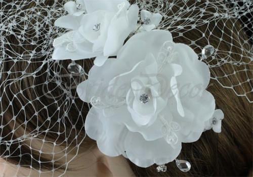 Вуалетка на свадьбу «Романтика»