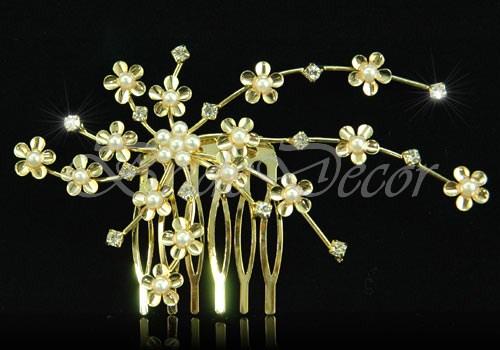 Золотистый гребень «Цветок»