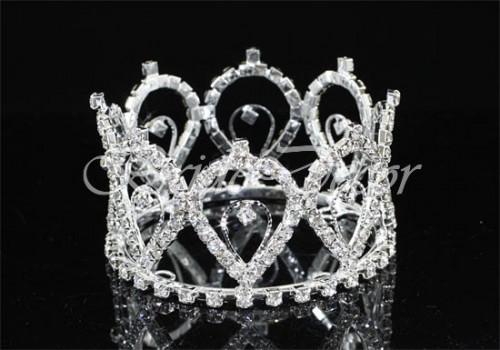 Корона из кристаллов «Нефертити»