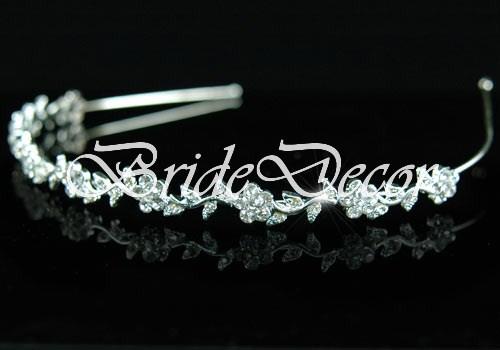 Ободок с цветами для невесты