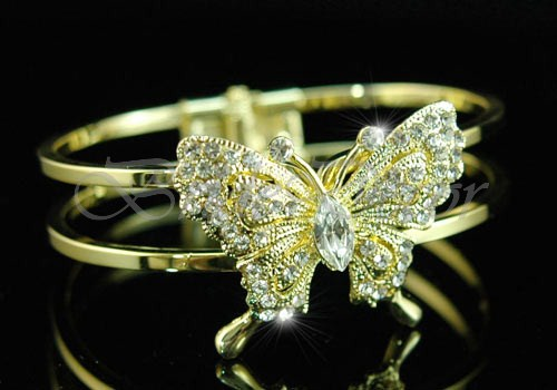 Браслет на руку «Золотые крылья»
