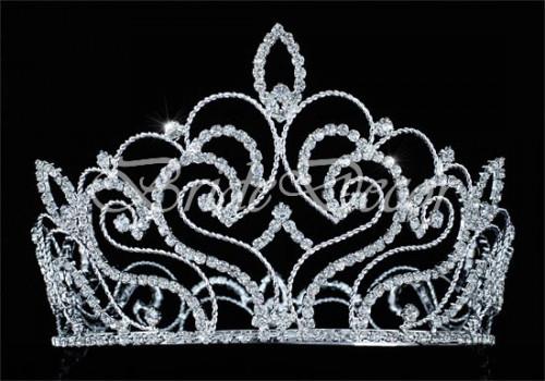 Высокая корона «Влюбленное сердце»