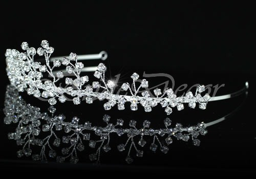 Свадебная диадема «Веточки»